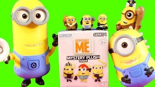 Despicable Me 3 Collection Surprise Mineez Minion Full Movie Toy Collection