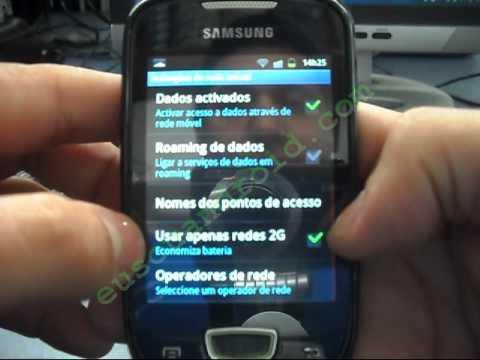 Solução Bug TELA no Gingerbread 2.3.4 Brasil Galaxy Mini