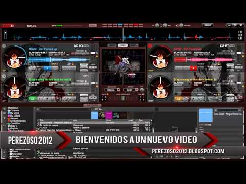 skin para el virtual dj 8 anime