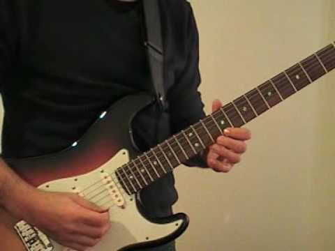 Hotel California Guitar Solo with Fender American Deluxe Strat