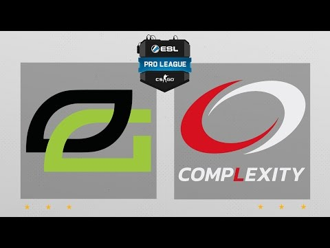 CS:GO - Optic vs. compLexity [Cache] Map 1 - ESL Pro League Season 5 - NA Matchday 30