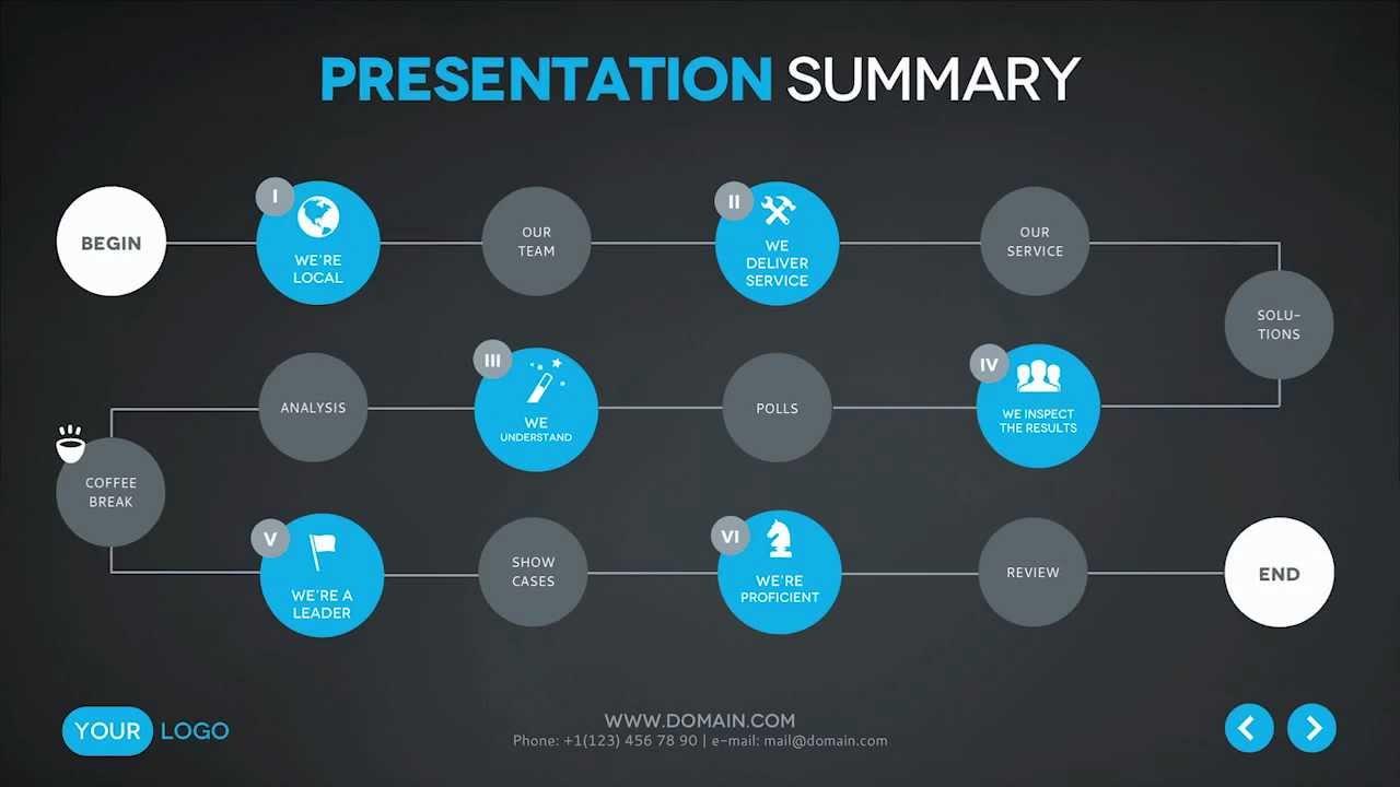 six reasons keynote presentation template