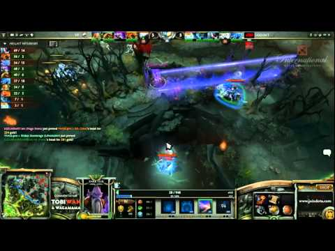 VirtusPro vs LGDint Game 1   The International 3 Group Stages   Tobi Wan & Waga