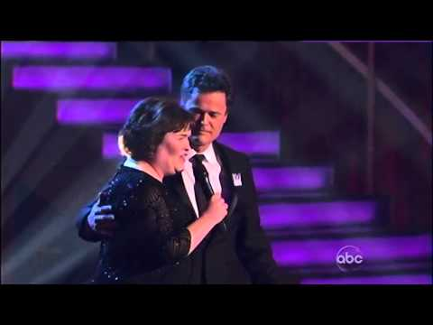 Susan Boyle & Donny Osmond (Duet/Serenade) ~ 