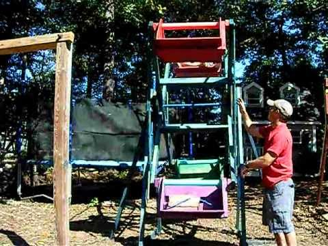 backyard ferris wheel free plans below 00 44 ferris wheel built in the