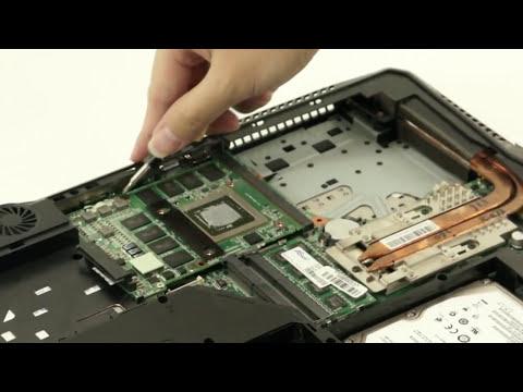 การเปลี่ยน VGA ใน Notebook - MXM