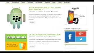 INSTALAR GOOGLE PLAY (SNAP) EN BLACKBERRY 10