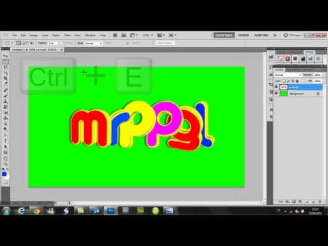 3D Text Effect with Xara3D6 and Photoshop (Türkçe)