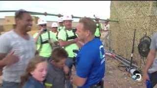 Final Moments of Nik Wallenda's Historic Walk   Skywire Live