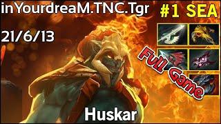 inYourdreaM [TNC.Tgr] Huskar - Dota 2 Full Game 7.17