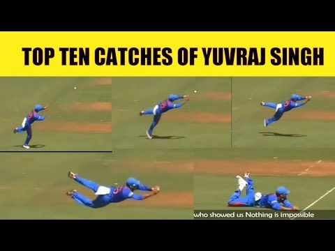 TOP TEN CATCHES OF YUVRAJ SINGH
