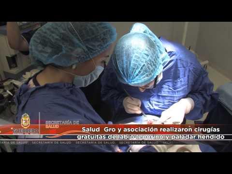 Salud Gro y asociación realizaron cirugías gratuitas de labio leporino y paladar hendido
