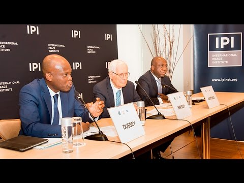 Supporting Pan-African Maritime Goals for 2050: Panel 1