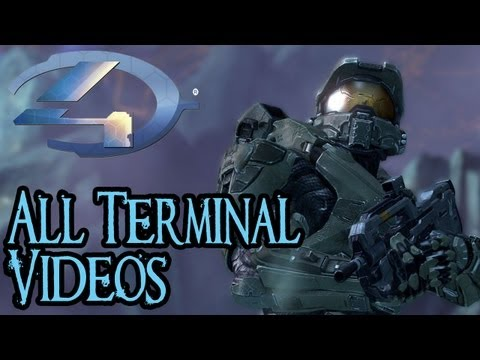 Halo 4 - Terminal Video Compilation - All Terminal Videos