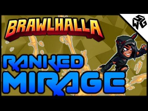 Diamond Ranked Mirage 1v1's - Brawlhalla Gameplay :: I'm Getting BAD!
