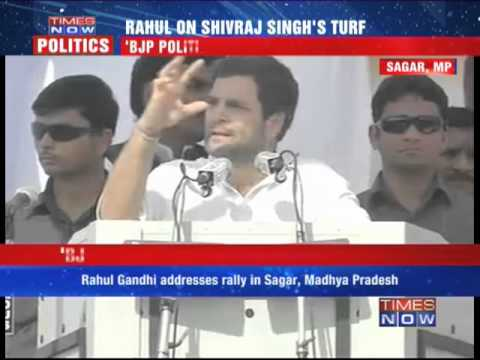 Rahul Gandhi tears into BJP's India Shining Campaign