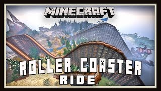 Minecraft Roller Coaster Ride     (Best Survival Roller Coaster Ever Built)