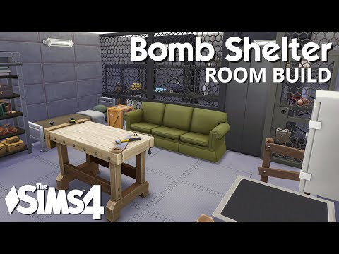 The Sims 4 Room Build - Bomb Shelter