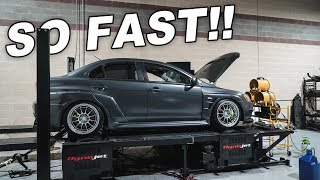 FINALLY TUNING THE EVO X (and it's FAST)