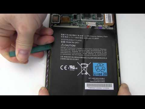 How to Replace Your Amazon Kindle D01400 Fire Battery