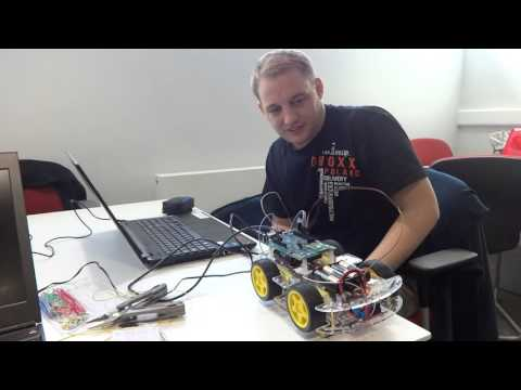 Programming the Edison Car