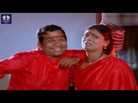 Brahmanandam First Night Comedy Scene Rowdy Gaari Pellam Movie || Telugu Comedy Scenes || TFC Comedy