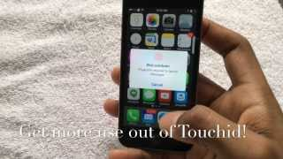 iPhone 5S - How To Get More Use Out Of Touch Id