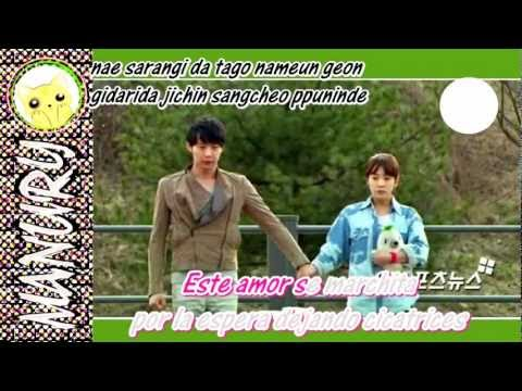 Hurt (상처) - Ali (알리) of Rooftop Prince OST [karaoke español]