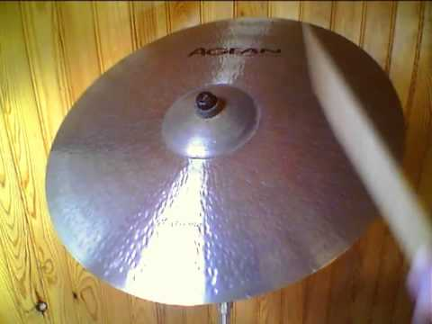 """Agean Extreme ride 20"""" cymbal"""