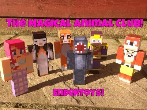 The Magic Animal Club Endertoys!!!!!