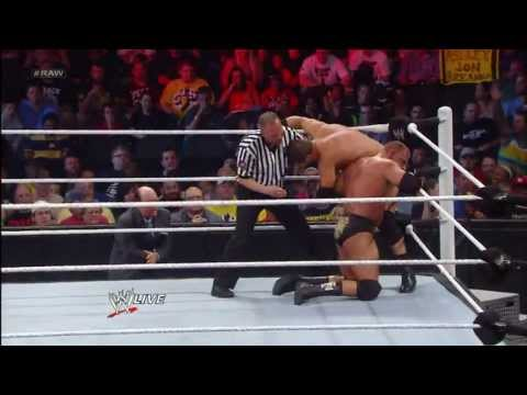 Triple H vs. Curtis Axel: Raw, May 20, 2013