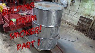 SDSBBQ - Making a 55 Gallon Steel Drum Smoker - Part 1