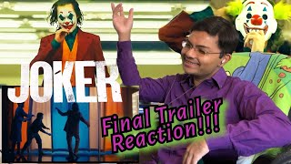 Joker (2019) Final Trailer Reaction!!