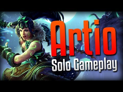 Smite: PURE INSANITY!- Wild Druid Artio Solo Gameplay
