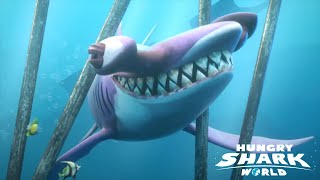 Hungry Shark World: All Sharks All Hungry Letters Collected