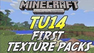Minecraft (PS3) - TU14 UPDATE! - FIRST TEXTURE PACKS INFO!