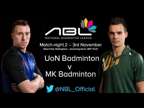 NBL 2014/15 Match-night 2 - University of Nottingham v MK Badminton