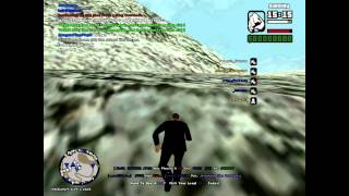 Happy New Years 2012! - GTA SA:MP Skydive & Event Part 2 HD