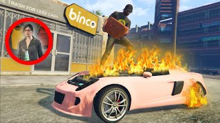 MAKING PEOPLE'S CARS BURST INTO FLAMES! | GTA 5 THUG LIFE #313