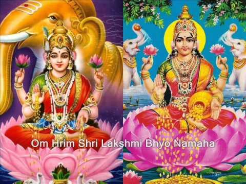 Shri Lakshmi Maha Mantra - Om Hrim Shri Lakshmi Bhyo Namaha video