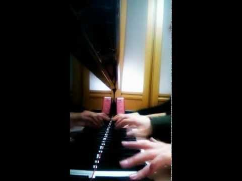 キャラバンの到着  ピアノ連弾
