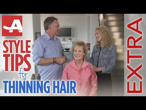 TIPS FOR THINNING HAIR 'EXTRA'   Best of Everything   AARP