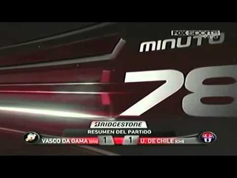 Vasco da Gama 1-1 Universidad de Chile Copa Sudamericana 2011 - Semifinales