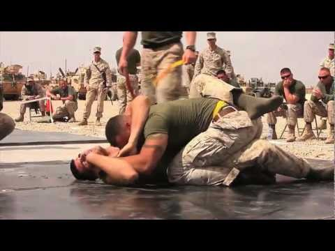 CLB-1 Marines' Fighting Tournament in Helmand Province