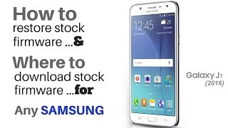 download lagu How To Download & Restore Stock Firmware Samsung Galaxy gratis
