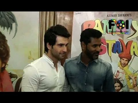 Watch Prabudeva And Girish Taurani Promoting 'Ramaiya Vastavaiya'