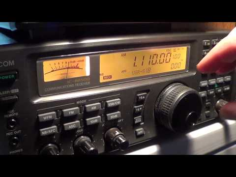 Mediumwave AM part 2 on icom ic r 8500