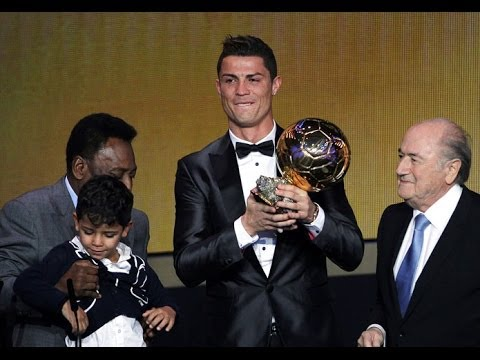 Cristiano Ronaldo - Balon de Oro 2014 - Winner CR7 Golden Ball 13/01/2014 HD