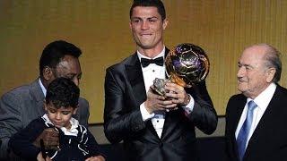 Cristiano Ronaldo - Balon de Oro 2014 - Winner CR7 Golden Ball 13/01/2014 HD