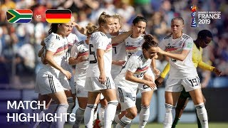 South Africa v Germany - FIFA Womens World Cup France 2019